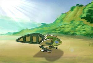 Ep4 3D Tadpole Ship 2