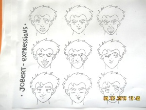 Model Sheet - expressions