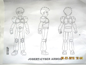 Model Sheet -Turn around