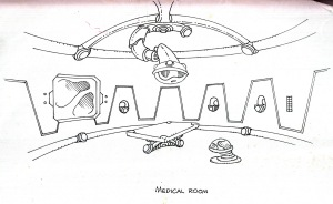 Frogee Ship Medical Room