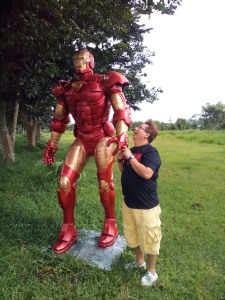 011 Iron Man Statue at Hacienda de Naga