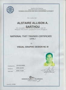 Alstaire Allison Sarthou-NTTC I Visual Graphics Design NCIII