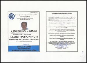 Alstaire Sarthou ID - Illustration NCII