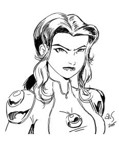 Jess Quick Sketch