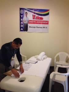 massage therapy NCII