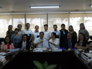 MOA signing with ACPI_2014 vouchers