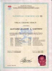 NC 3 in Visual Graphic Design