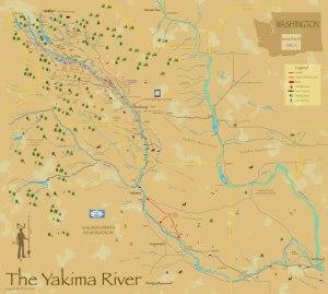 Yakima River Map