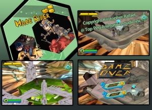 Maze Rider 01 ingame
