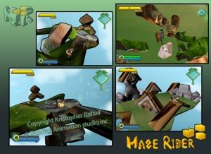 Maze Rider ingame 02