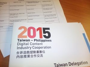 Taiwan Delagation 2015