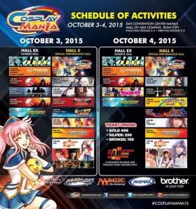 cosplay activities
