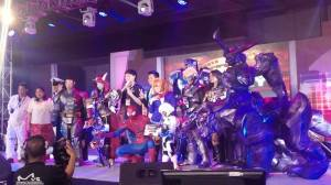 cosplay contestants