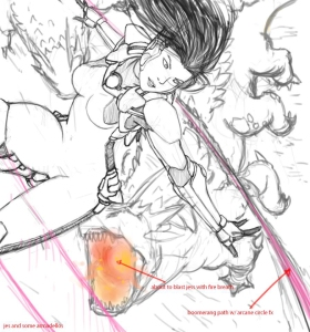 Jess Poster Sketch 1