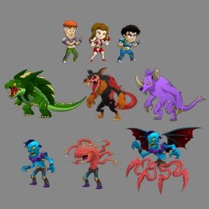 jobert game characters final