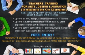 Teachers training Announcement