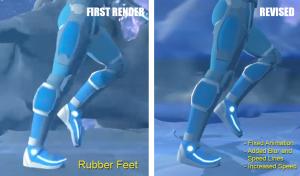 003 Rubber Feet on Run